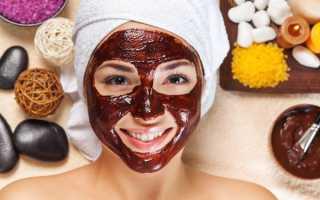 Маска из шоколада для лица