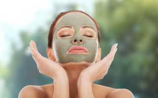 Маска из зеленой глины для лица