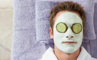Приготовление мужской маски для лица в домашних условиях