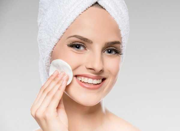 Очищение лица от косметики
