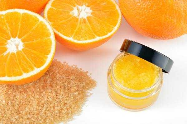 скраб с апельсином