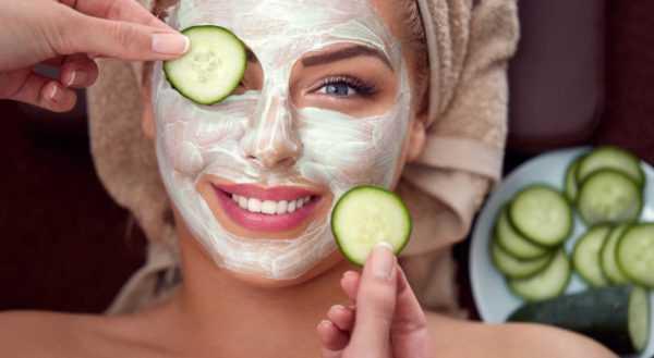 Кукурузно-огуречная маска для лица
