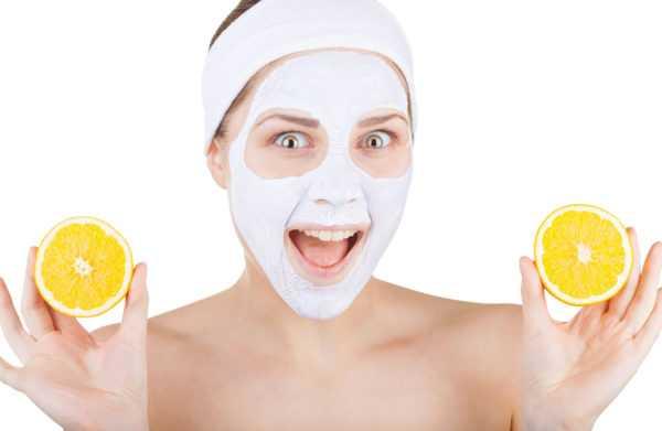 Лимонно-белковая маска для лица