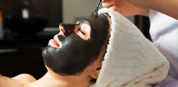 Черная маска с желатином