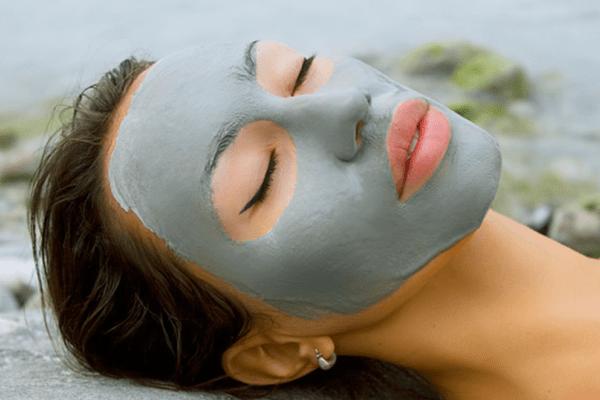 Очищающая маска с голубой глины