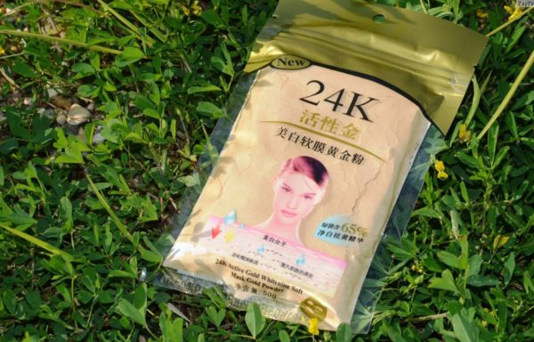 24K Active Gold Whitening Soft Mask Gold Powder