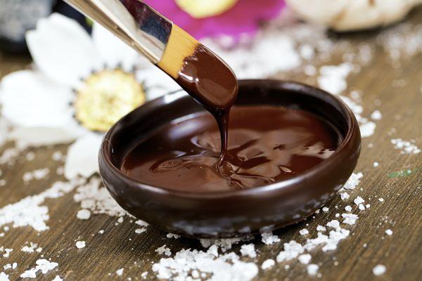 Маска для лица шоколадная