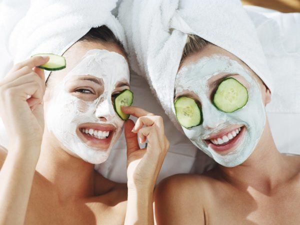 Лицо распаривающая маска для лица